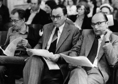 Lothar Knessel, Kurt Jungwwirt und Emil Breisach