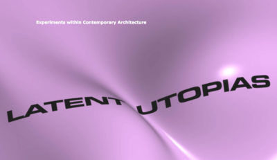 steirischer herbst 2002, Katalogcover: Latente Utopien