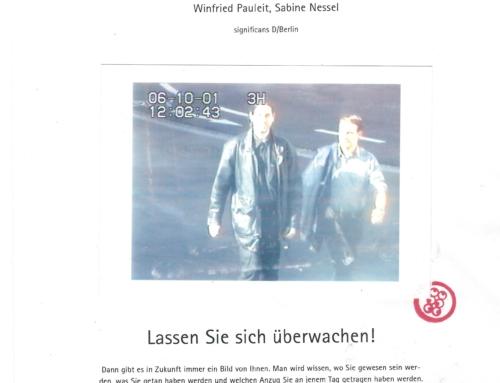 2001 – das Jahr in dem die herbstliche Überwachung in Graz begann. Von Robert Goessl