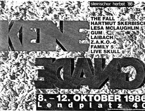 """Laibach / """"Keine Gnade"""", 1986. Von Martin Behr."""