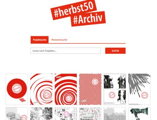 Das Archiv des steirischen herbst ist online!